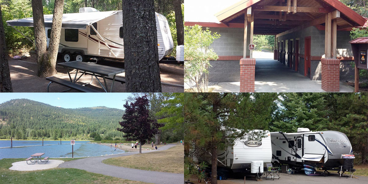 North Idaho RV Parks and Rentals - Sandpoint