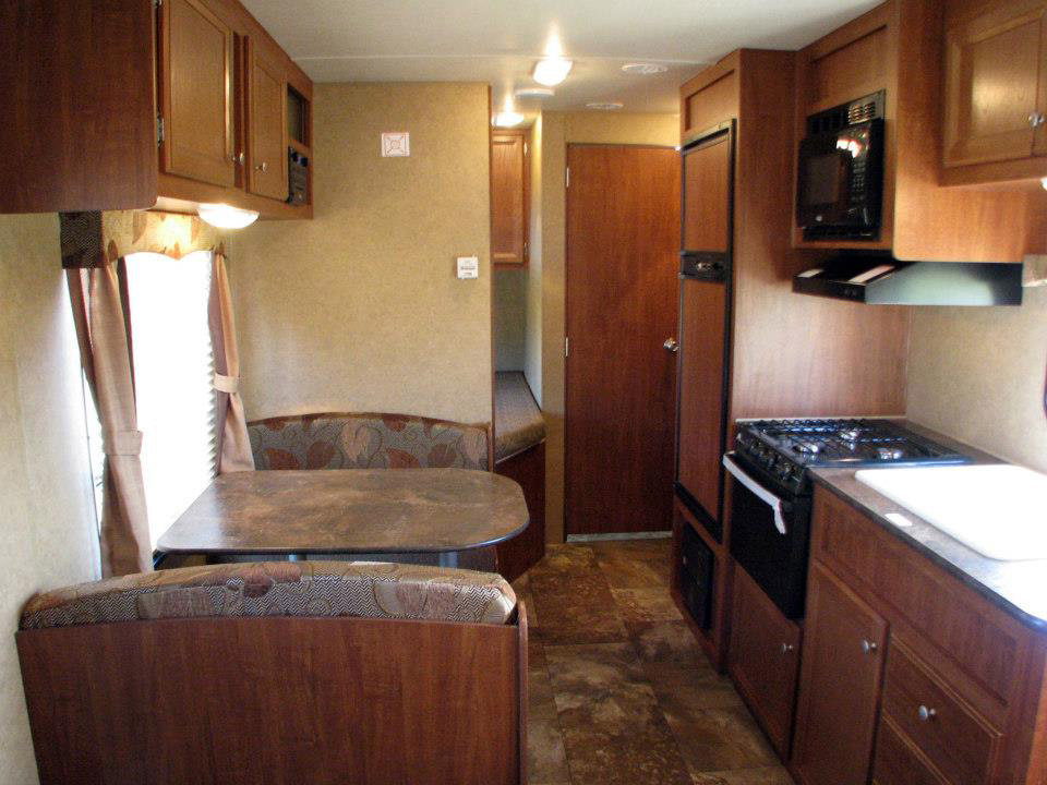 North Idaho RV Rentals - Interior Main & Kitchen