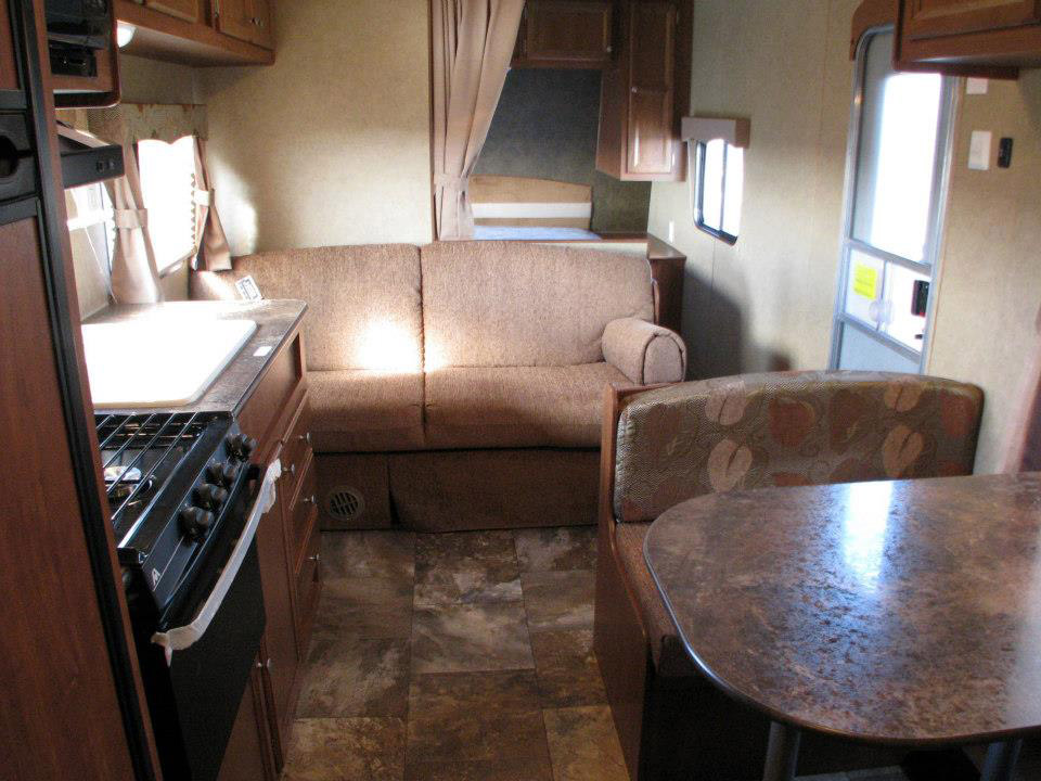 North Idaho RV Rental - Interior