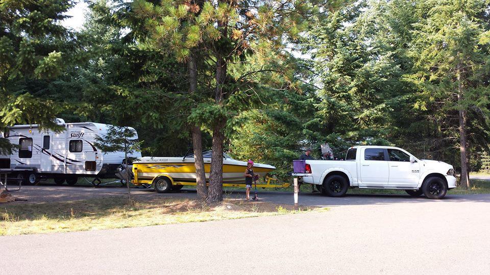North Idaho RV Rentals - Boating Vacation